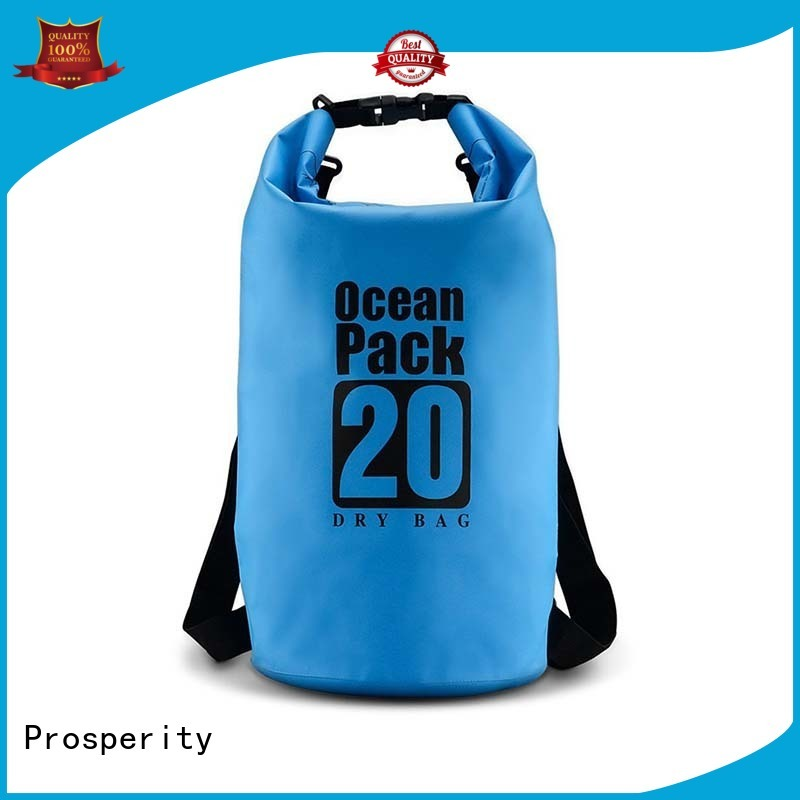 Prosperity go outdoors dry bag with innovative transparent window design open water swim buoy flotation device