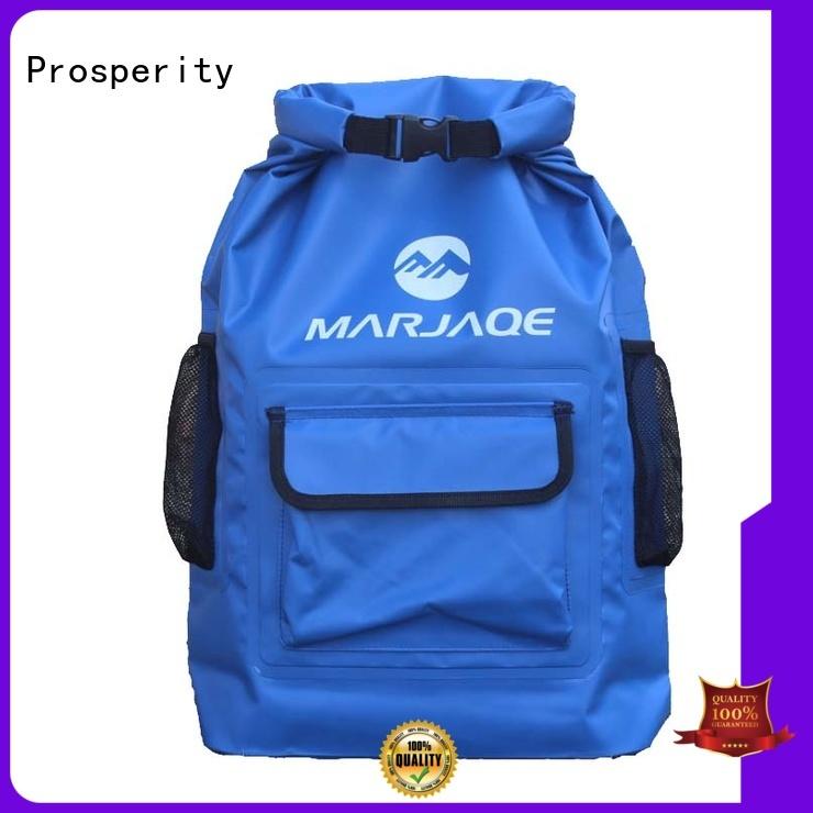 Prosperity dry pack with adjustable shoulder strap for boating