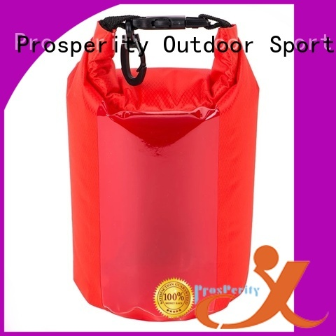 Prosperity light Waterproof dry bag with innovative transparent window design for rafting