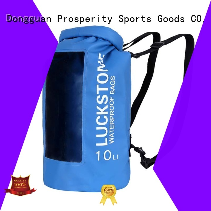 Prosperity outdoor go outdoors dry bag manufacturer for fishing