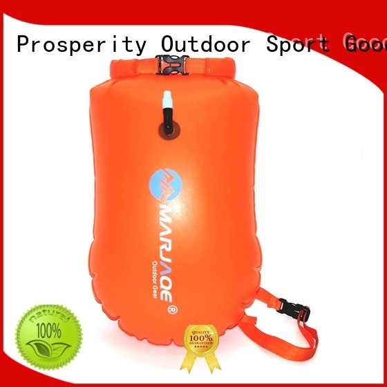 Prosperity heavy duty dry bag with strap with innovative transparent window design for fishing