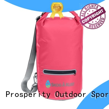 Prosperity floating dry bag sizes with adjustable shoulder strap for kayaking