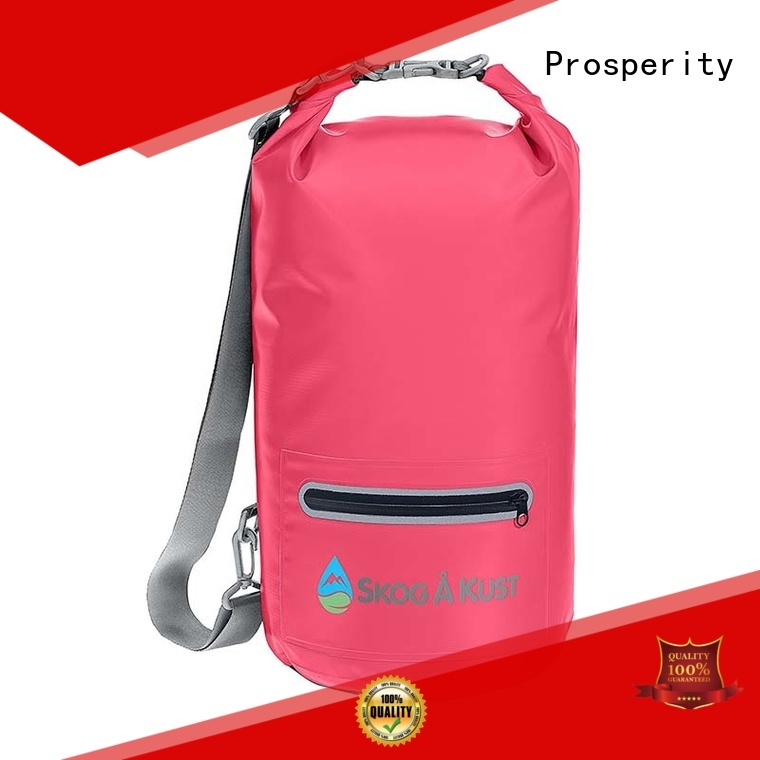 sport Waterproof dry bag with innovative transparent window design for boating