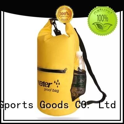 Prosperity polyester dry bag backpack manufacturer for fishing