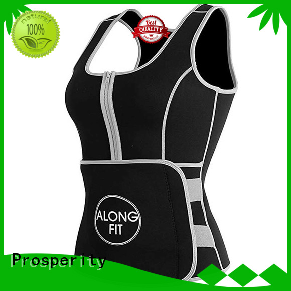 Prosperity compression sport protection waist for basketball