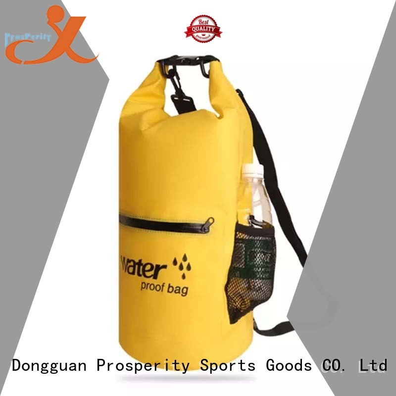 Prosperity heavy duty dry pack with adjustable shoulder strap for fishing