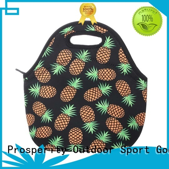 Prosperity can shape wholesale neoprene bags with accessories pocket for sale