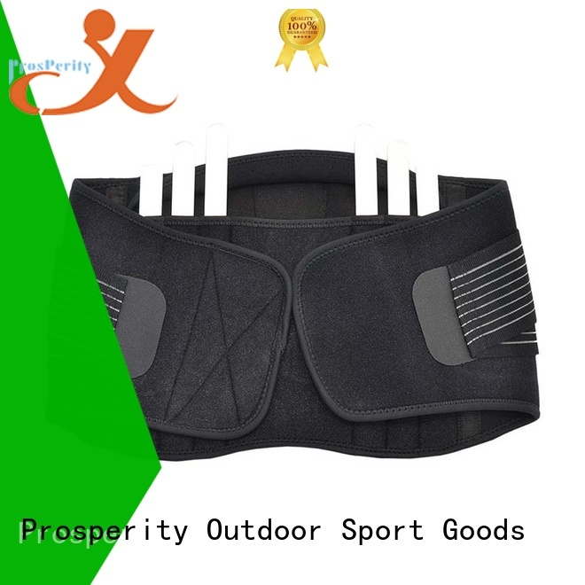 Prosperity double support sport vest suit for powerlifting