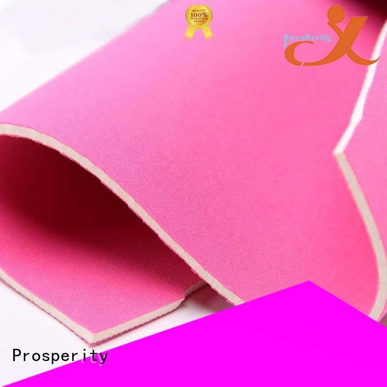 Prosperity waterproof neoprene fabric suppliers wholesale for sport
