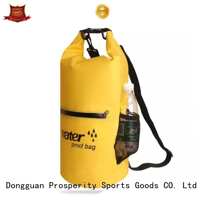 polyester dry bag backpack manufacturer open water swim buoy flotation device