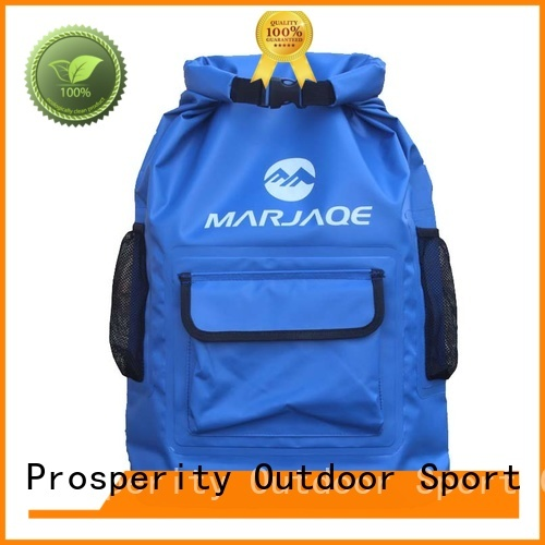 outdoor dry bag backpack with adjustable shoulder strap for kayaking