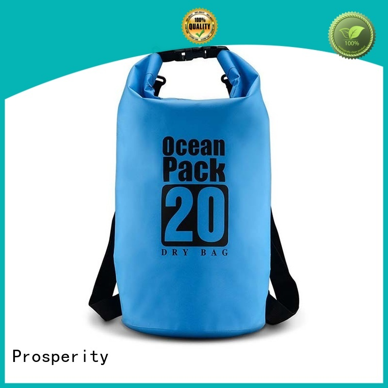 Prosperity outdoor dry bag with strap manufacturer for boating