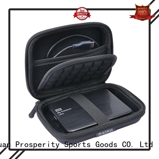 deluxe eva foam case disk carrying case for brushes