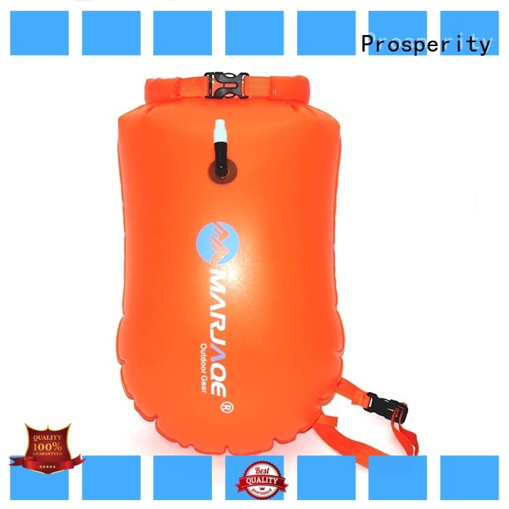 Prosperity floating dry bag sizes with adjustable shoulder strap for fishing