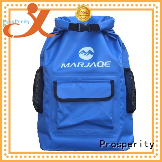 Prosperity polyester camping dry bag for rafting