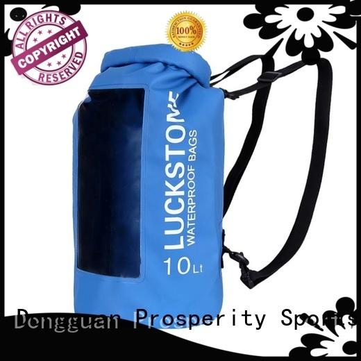 Prosperity light Waterproof dry bag with adjustable shoulder strap for fishing