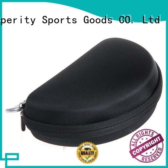 Prosperity pu leather eva travel case pencil box for pens
