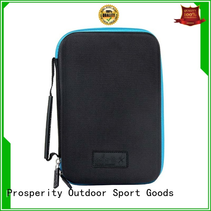 Prosperity pu leather eva hard case glasses travel case for switch