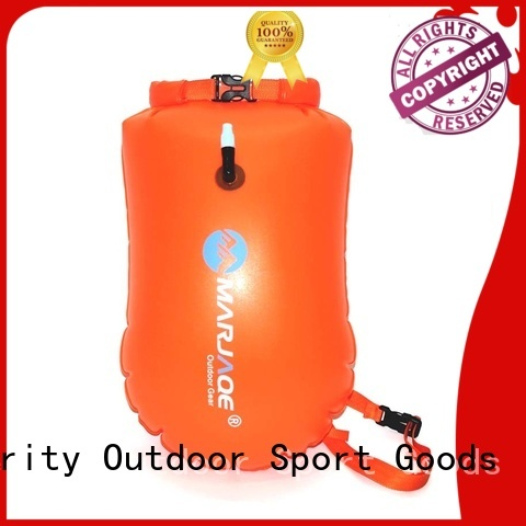 Prosperity sport dry pack with innovative transparent window design for kayaking