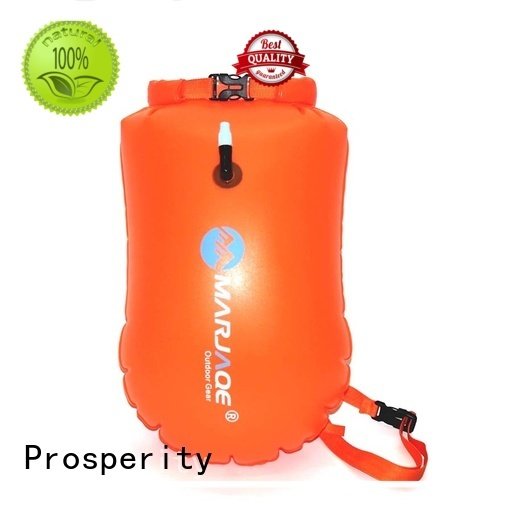 heavy duty drybag with innovative transparent window design for kayaking