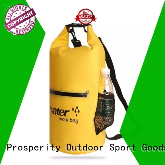 Prosperity go outdoors dry bag with innovative transparent window design for fishing