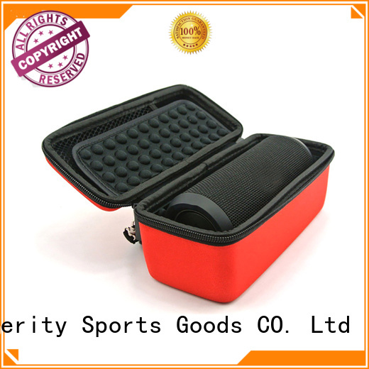 pu leather eva carrying case speaker case for hard drive