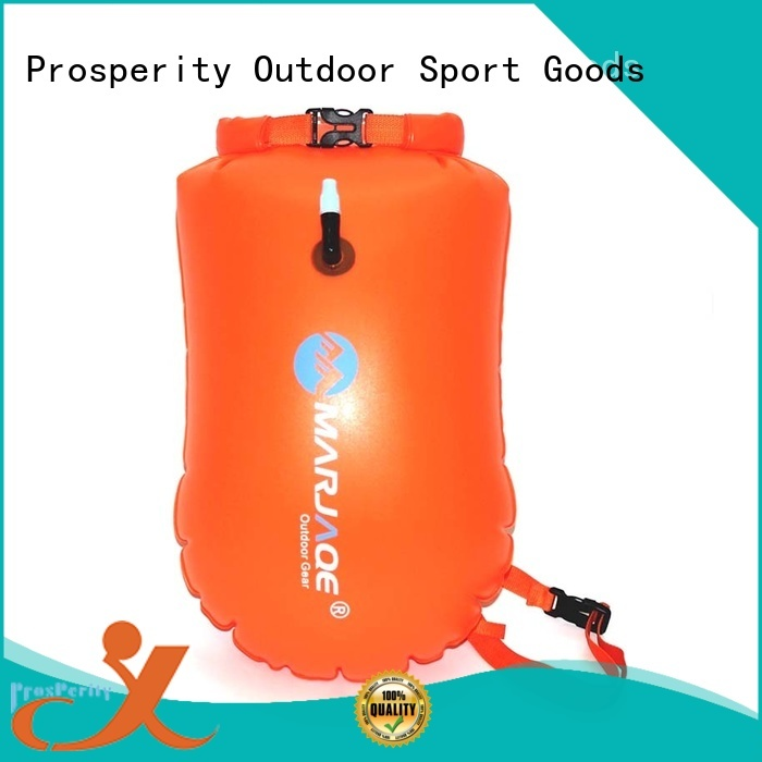 Prosperity light dry bag sizes with innovative transparent window design for fishing