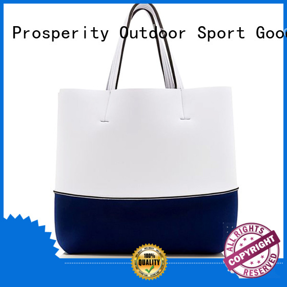 Prosperity fashion wholesale neoprene bags beach tote bags for travel