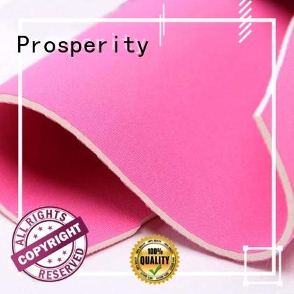 Prosperity elastic Neoprene fabric sponge rubber sheet for sport