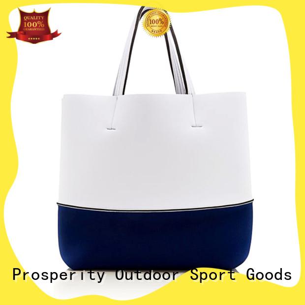 Prosperity cooler neoprene bags beach tote bags for travel