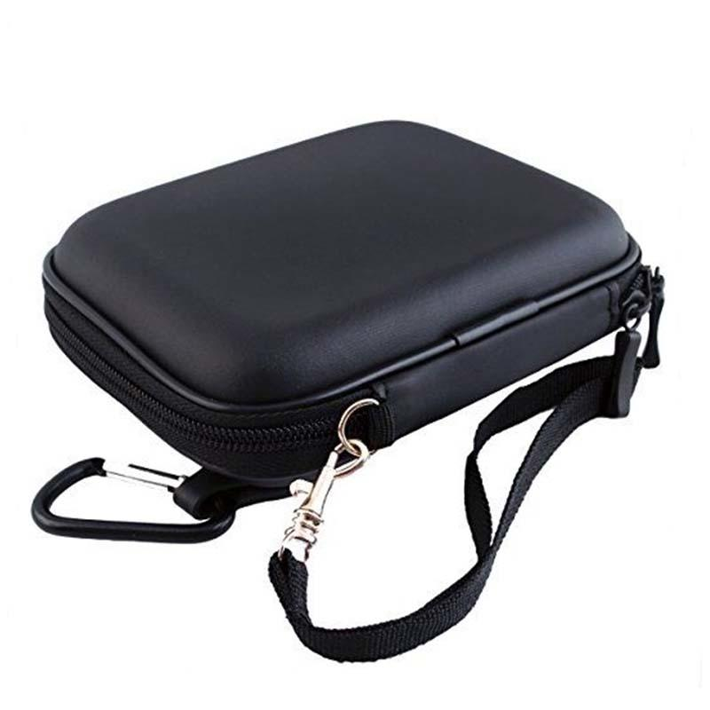 Pu leather eva shockproof carrying case for hard drive-1