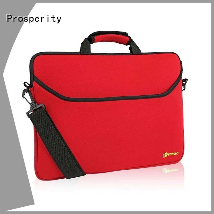 Prosperity neoprene wine tote carrier tote bag for travel