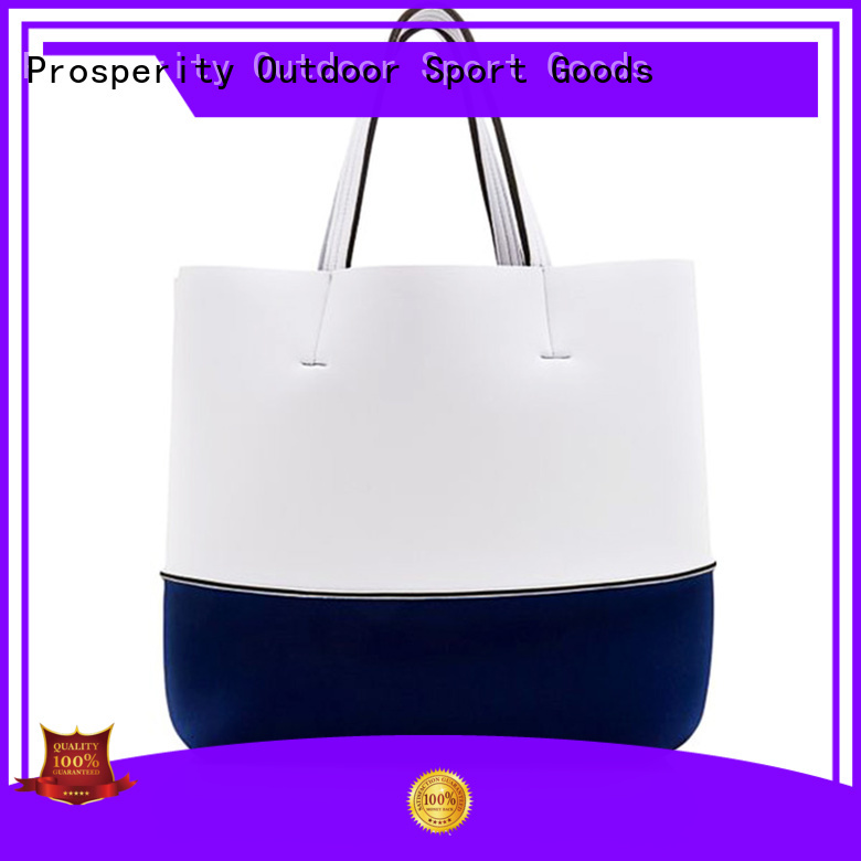 Prosperity wholesale neoprene bags carrier tote bag for hiking