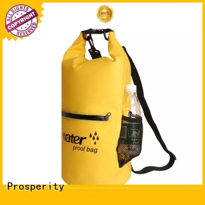 floating dry bag with strap with innovative transparent window design for rafting