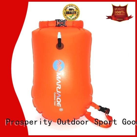 Prosperity dry bag backpack with innovative transparent window design for kayaking
