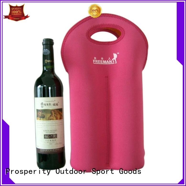 Double  bottle neoprene wine carrier tote bag water bottle holder