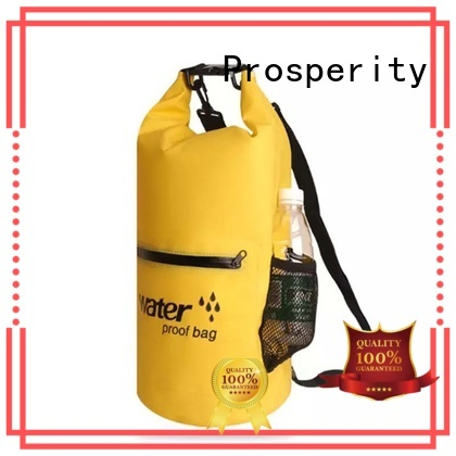 heavy duty dry bag with innovative transparent window design open water swim buoy flotation device