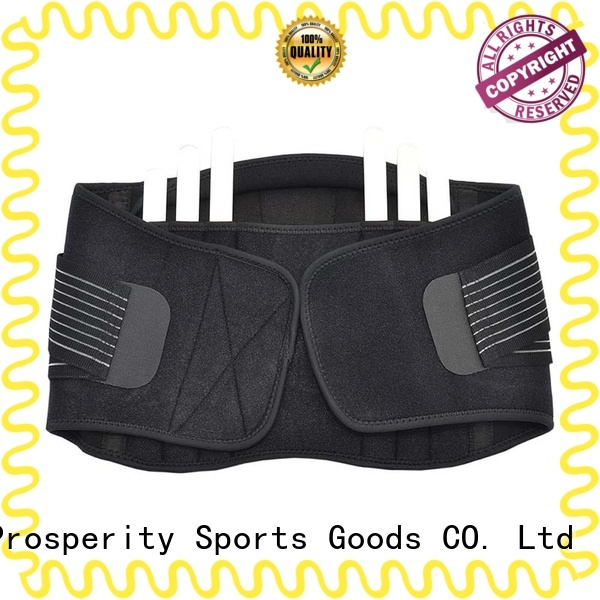Prosperity steel stabilizers support in sport with adjustable shaper for weightlifting