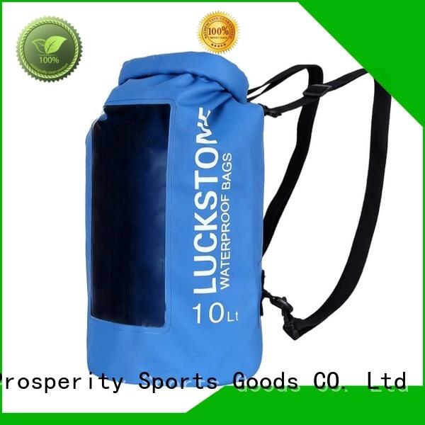 Prosperity floating drybag with adjustable shoulder strap for boating