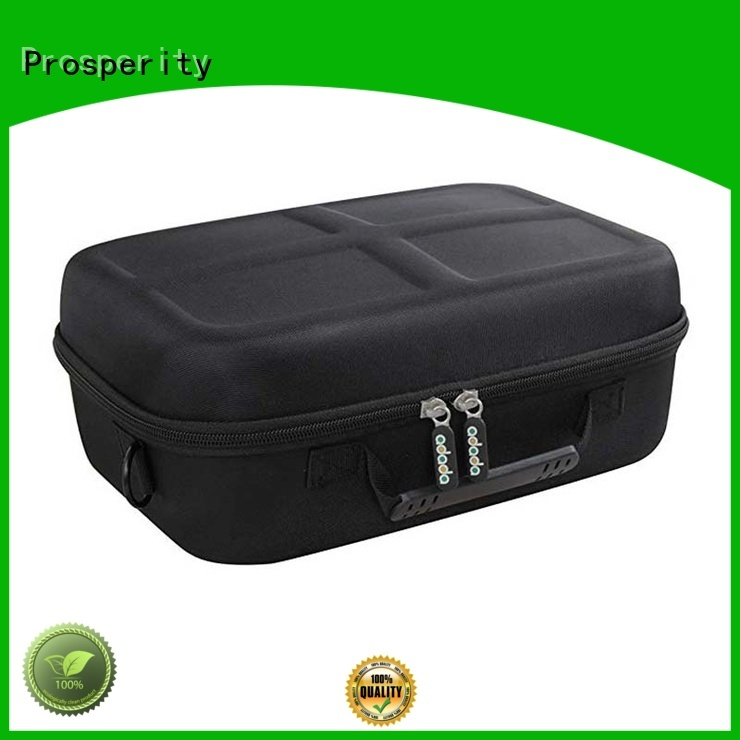 portable eva zip case glasses travel case for brushes