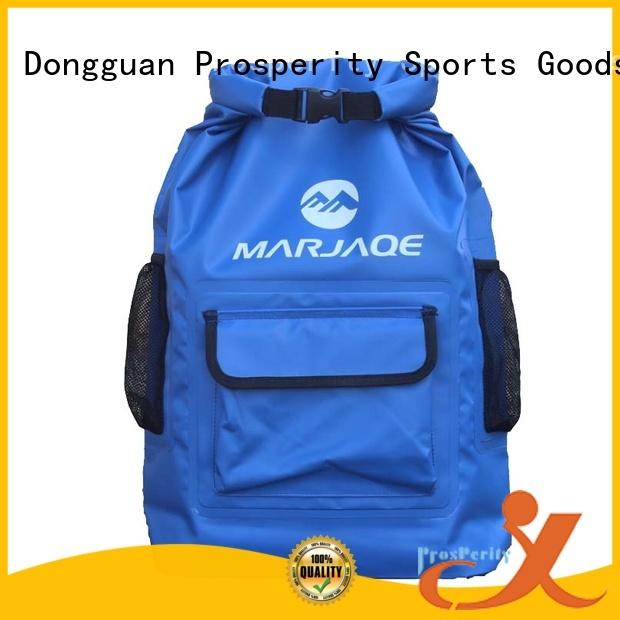 Prosperity drybag with adjustable shoulder strap for rafting