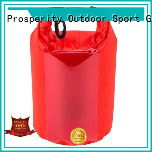 Prosperity heavy duty dry bag sizes with adjustable shoulder strap for fishing
