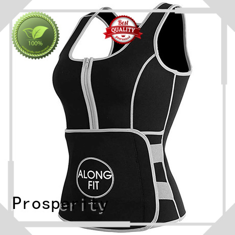 Prosperity support sport vest suit for weightlifting