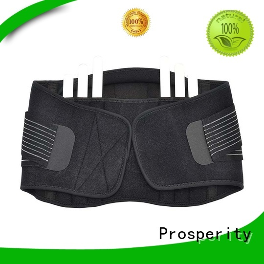 Prosperity support in sport with adjustable shaper for powerlifting