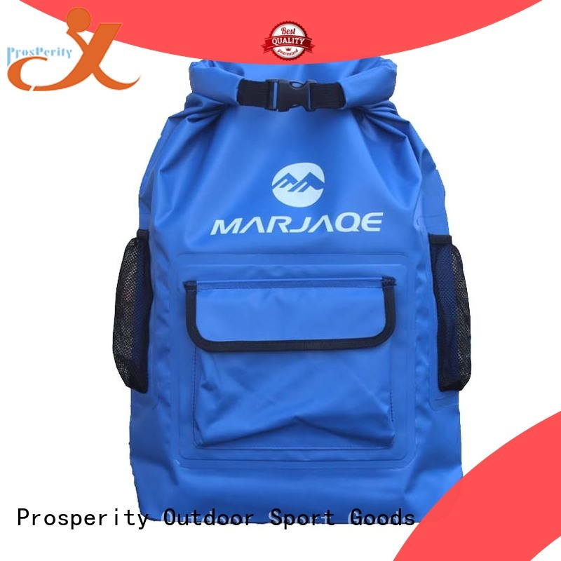 Prosperity floating dry bag with innovative transparent window design for rafting