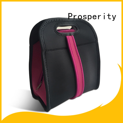 Prosperity promotion neoprene laptop case with handle for hiking