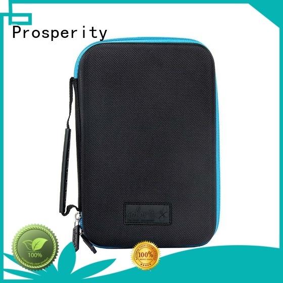Prosperity waterproof eva carrying case fits for pens