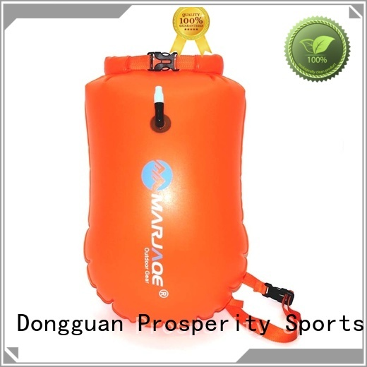 heavy duty roll top dry bag manufacturer open water swim buoy flotation device