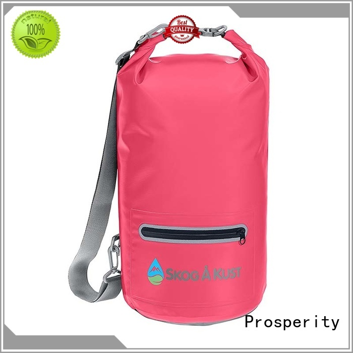 Prosperity outdoor go outdoors dry bag with adjustable shoulder strap for boating