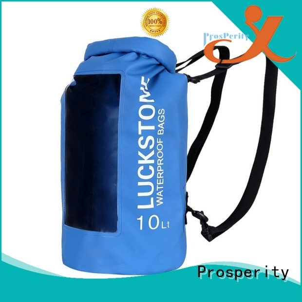 sport dry bag sizes with innovative transparent window design open water swim buoy flotation device